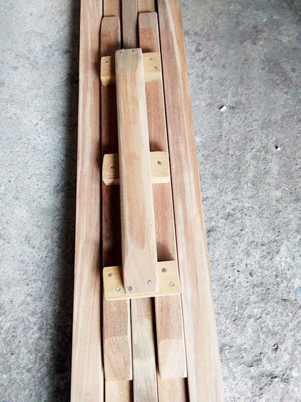 khuan gói đậu bằng gỗ