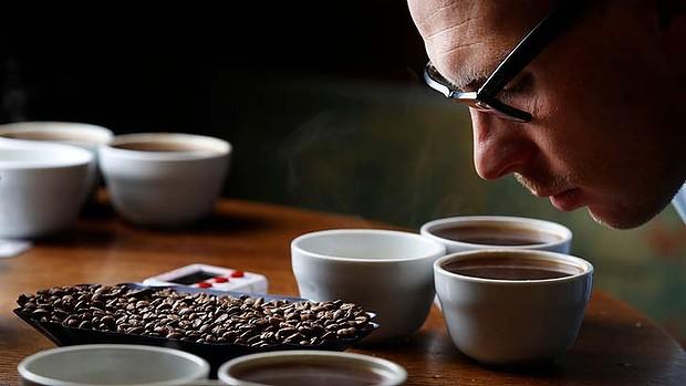 thử vị cà phê