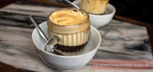 Cách pha chế cà phê trứng