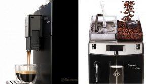 Máy pha cà phê từ hạt công nghiệp chuyên nghiệp.