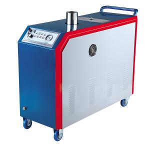 Rửa xe hơi di động bằng máy rửa xe dùng hơi nước nóng.